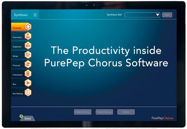 The productivity inside PurePep Chorus software