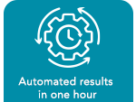 Automated results in one hour